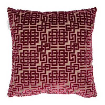 Ming Pillow Cover Color: Dark Purple