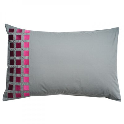 Square Pillow Cover Color: Gray