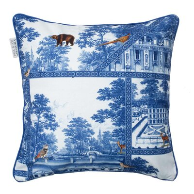 Bellecour Pillowcase Color: White/Blue