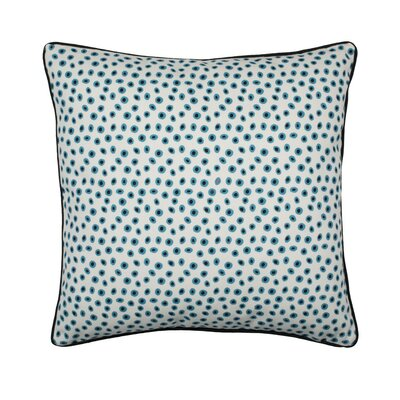 Kiwis Pillow Cover Color: Natural/Blue