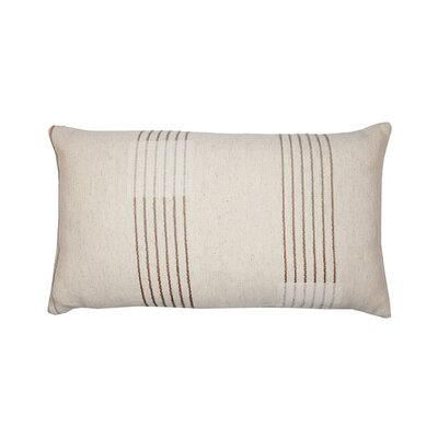 Finca Pillow Cover Color: Light Beige