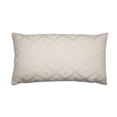 Calisson Pillow Cover Color: Off White