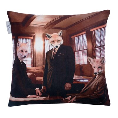 Fox Club Pillow Cover