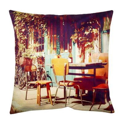 Vintage Cafe Pillow Cover