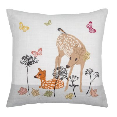 Lady Nature Pillow Cover