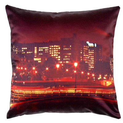 River Lights Pillow Cover
