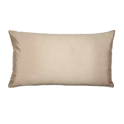 Jade Pillow Cover Color: Light Beige