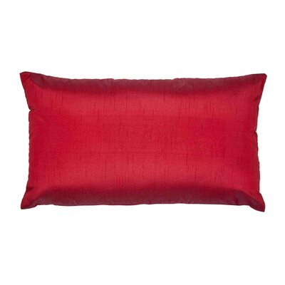 Jade Pillow Cover Color: Bright Red