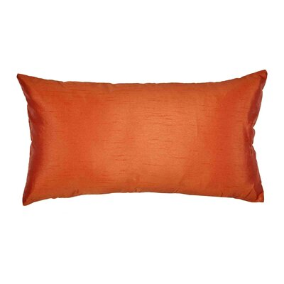 Jade Pillow Cover Color: Orange