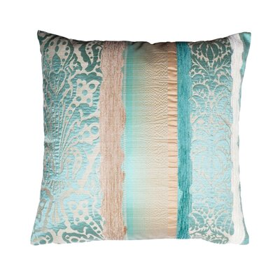 Chenonceau Pillow Cover Color: Blue Green