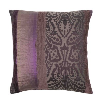 Chenonceau Pillow Cover Color: Dark Purple