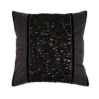 Galata Pillow Cover Color: Black