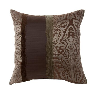 Chenonceau Pillow Cover Color: Light Brown