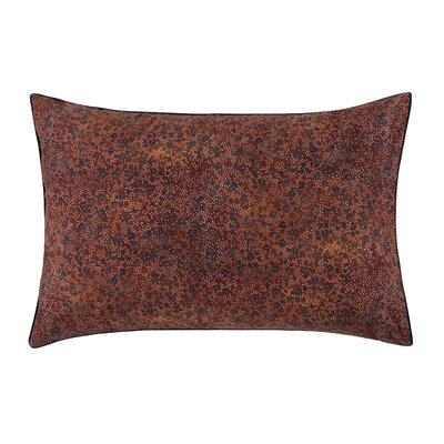 Isadora Pillow Case Color: Paprika, Size: Standard