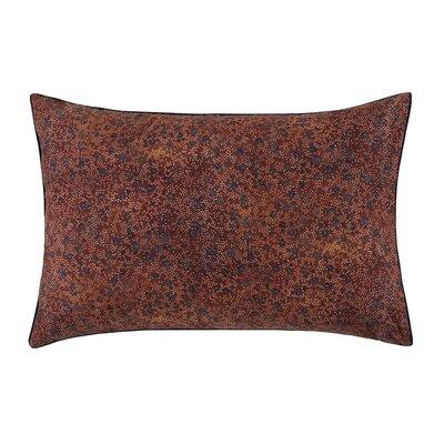 Isadora Pillow Case Color: Paprika, Size: King