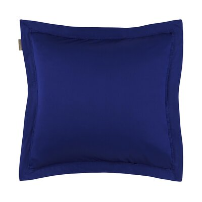 Aurore Pillow Case Color: Blue, Size: King
