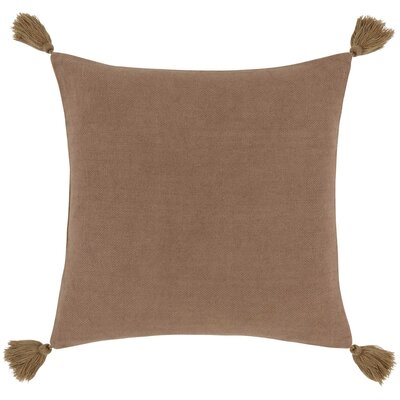 Polo Pillow Cover Color: Light Brown