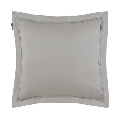 Aurore Pillow Case Color: Light Beige, Size: Euro