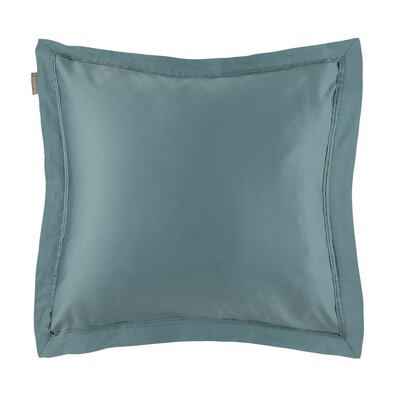 Aurore Pillow Case Color: Green, Size: Euro