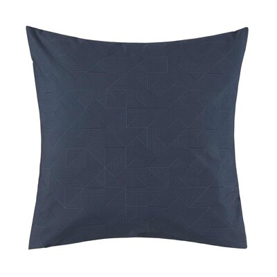 Theoreme Pillow Case Color: Denim, Size: King