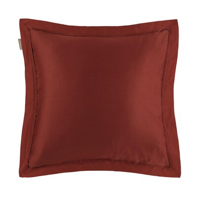 Aurore Pillow Case Color: Paprika, Size: King