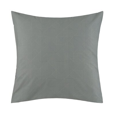 Theoreme Pillow Case Color: Green, Size: Standard