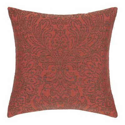 Anita Pillow Cover Color: Orange and Natural