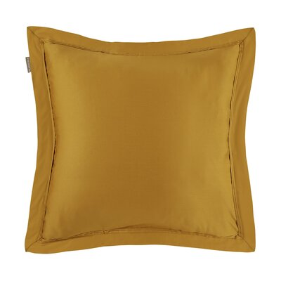 Aurore Pillow Case Color: Ocher, Size: Euro
