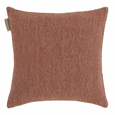 Ashford Linen Pillow Cover Color: Orange and Natural