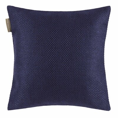 Coconut Pillow Cover Color: Dark Night Blue