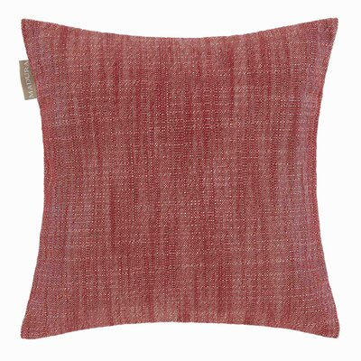 Harmony Pillow Cover Color: Bright Red