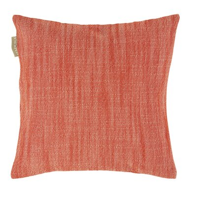 Harmony Pillow Cover Color: Salmon Orange