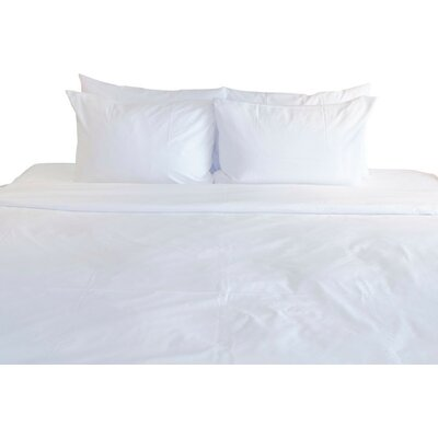 300 Thread Count Cotton Flat Zip-Sheet Set Size: Queen