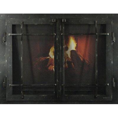 Mountain Series Fireplace Glass Door Size: 30