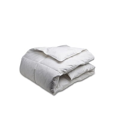 All Season Goose Feather Duvet Cover Size: Double