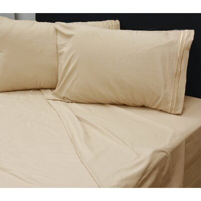 Beirut 4 Piece Sheet Set Color: Tan