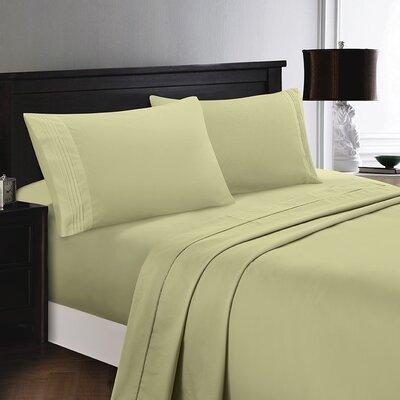 Woodward Egyptian Comfort Sheet Set Color: Sage