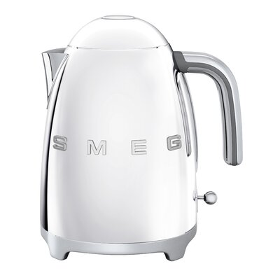 50s Style 1.75 Qt. Stainless Steel Electric Tea Kettle Color: Polished Stainless Steel KLF01SSUS