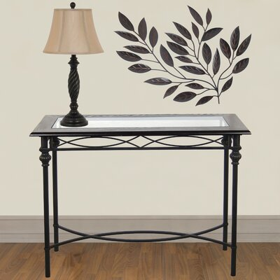 Console Table with Lamp Set