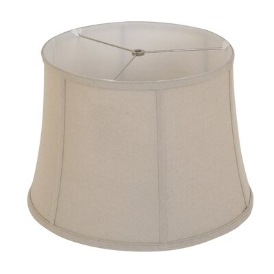 16 Linen Bell Lamp Shade Color: Natural