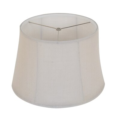 16 Linen Bell Lamp Shade Color: Natural Stone