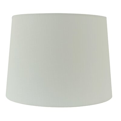15 Linen Drum Lamp shade Color: Creme