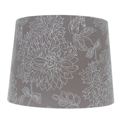 15 Linen Drum Lamp Shade Color: Chocolate