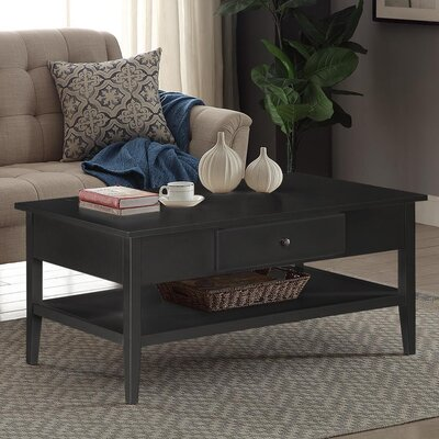 Celina Coffee Table Finish: Black