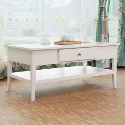 Celina Coffee Table Finish: White