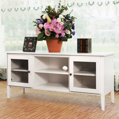 Celina 52 TV Stand Color: White