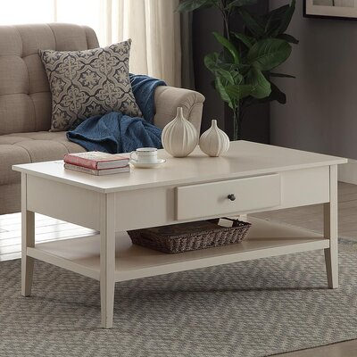 Celina Coffee Table Color: White