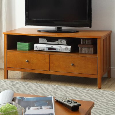 Easingwold Mission Style Wood 45 TV Stand Color: Mission oak