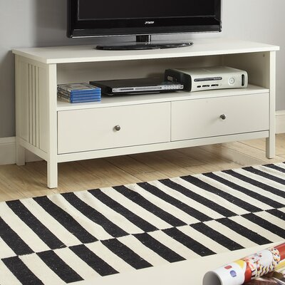 Easingwold Mission Style Wood 45 TV Stand Color: White