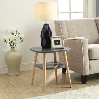 Ulrey Modern Wood End Table Color: Gray